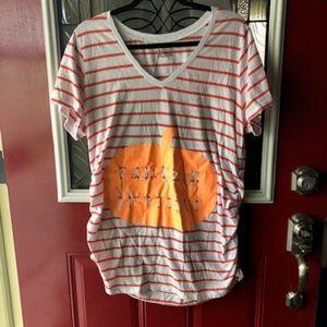 Hallowwen Maternity Shirt